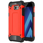 Military Defender Shockproof Case for Samsung Galaxy A5 (2017) - Red